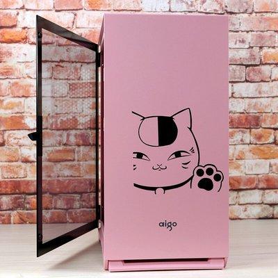 迷你機殼愛國者YOGO M2粉色電腦小機箱全側透明水冷MATX主機臺式機itx迷你