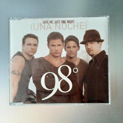 【裊裊影音】98 Degrees/98度合唱團-Give Me Just One Night (Una Noche)單曲CD-環球唱片2000年發行