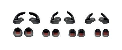 平廣 耳機配件 Jabra ROX WIRELESS 黑色 耳勾 耳翼 耳套 二節套 矽膠套 耳道套 耳機 配件