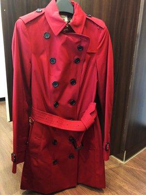 Burberry 經典風衣外套 時尚大方 經典百搭 附購買證明 衣架及防塵套 備釦 UK4/ US2/ IT36 台北市