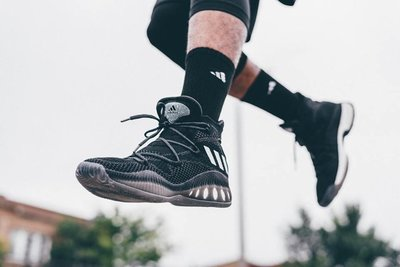 【豬豬老闆】ADIDAS CRAZY EXPLOSIVE PRIMEKNIT 男  黑白 編織 藍球鞋 B42404