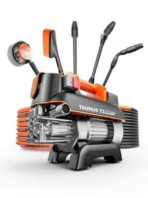 『格倫雅』汽車機 億力高壓洗車機家用220v刷車泵全自動清洗機水槍洗車神器高壓水泵^13878