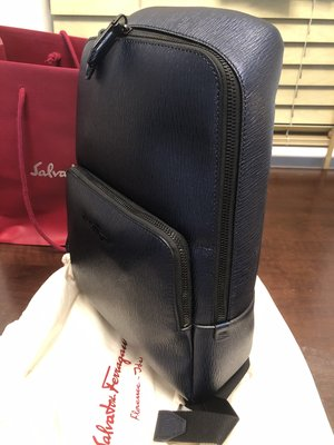 100% new SALVATORE FERRAGAMO compact backpack - 全新未用過