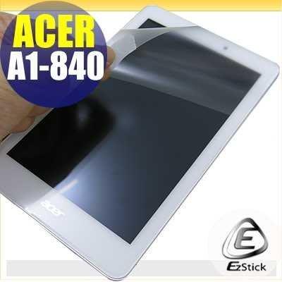 【EZstick】ACER Iconia Tab 8 A1-840 靜電式平板LCD液晶螢幕貼 (可選鏡面防汙或高清霧面) 台北市
