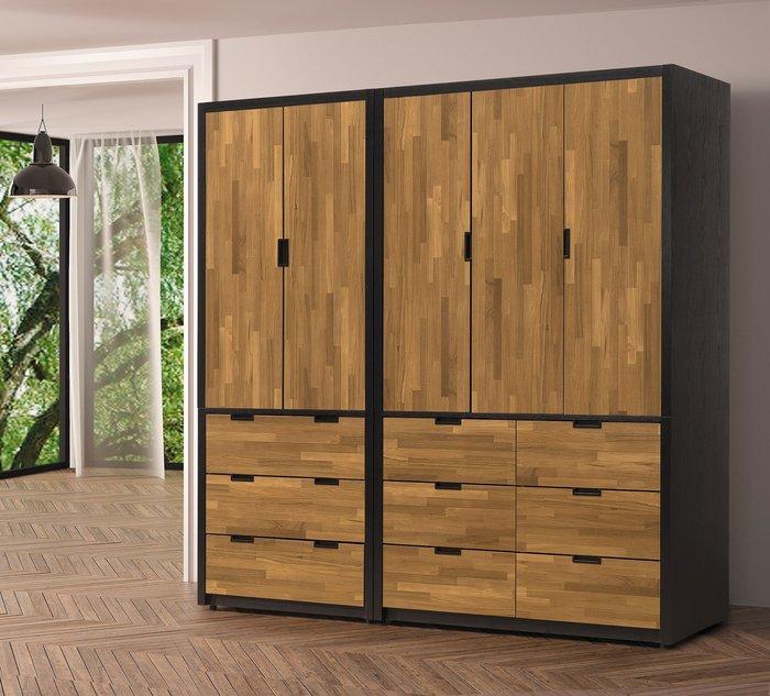 奧斯汀7尺衣櫃 👍台灣製造👍另有系列家具😊暖暖屋傢俱傢飾😊