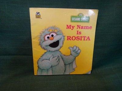 【愛悅二手書坊 O-08】My Name Is ROSITA