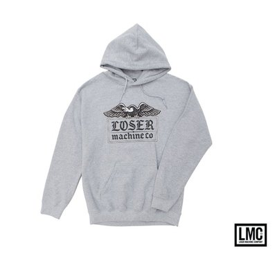 GOODFORIT / 美國Loser Machine Foothold Pullover Hood美式猛禽連帽外套