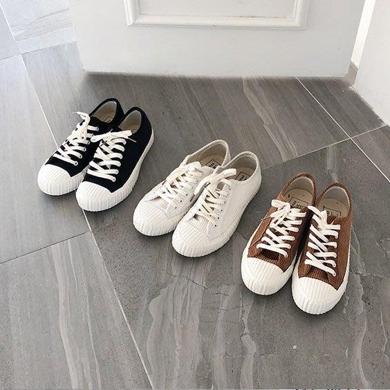 Forever Kids 韓國連線 正韓  燈芯絨休閒平底鞋【T21341】現貨