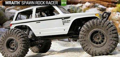 天母168  AX90045 攀岩車 Wraith Spawn 1/10 4WD 2.4G NCC認證控