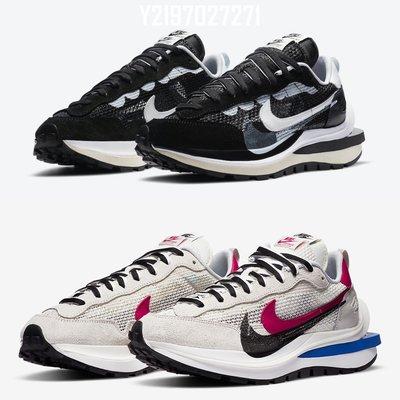 SACAI x NIKE VaporWaffle 黑 白 解構 CV1363 001 100 SACAI 2.0 慢跑潮流鞋