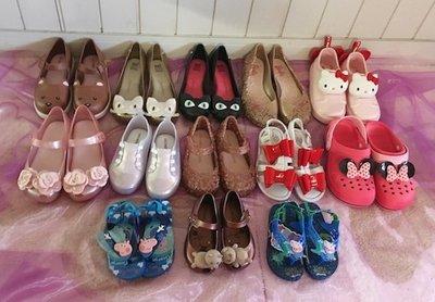 【巴西美鞋代購】梅麗莎 Mini melissa 兒童現貨 kitty 小七貓 熊 佩佩豬 香香果凍涼鞋 包鞋