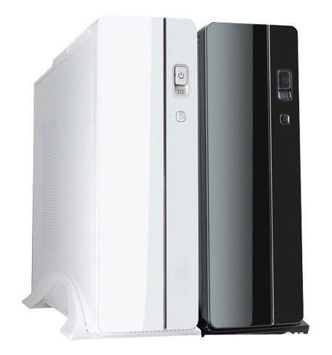 I-COOLTW 水玲瓏 黑/白 M-ATX適用 USB3.0內置(轉U2) 含400W電源 小機殼 同小幻象 小雪貂