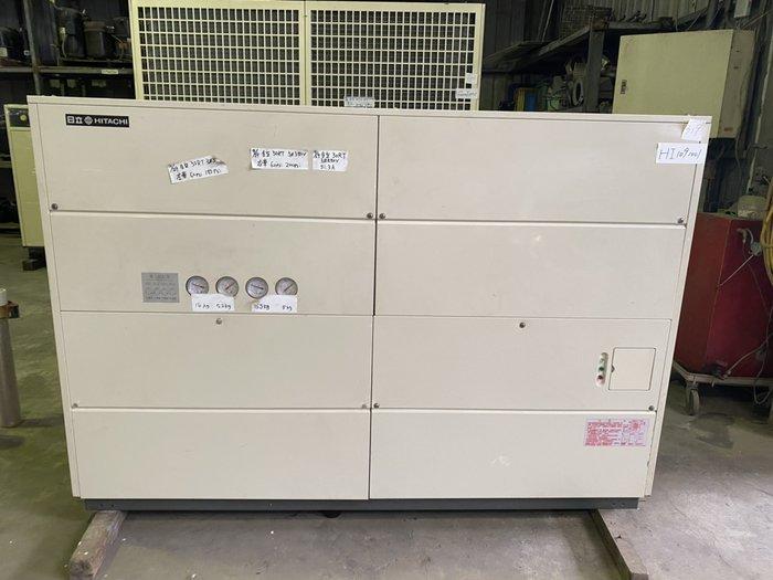 (大台北)中古日立30RT水冷冰水機3φ380V(編號:HI1091001)冷氣空調維修保養廠房拆除回收買賣*