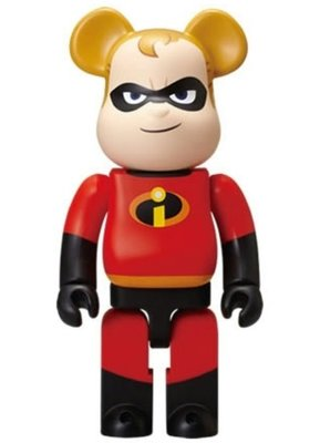 ++全新 Be@rbrick Bearbrick 400% Disney Pixar 一番賞 超人特攻隊 The Incredibles 超人爸爸