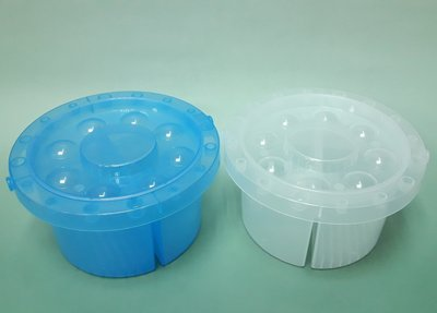 【五旬藝博士】小畫家 洗筆盒 藍、白 兩色可選 筆洗 台灣製-LH