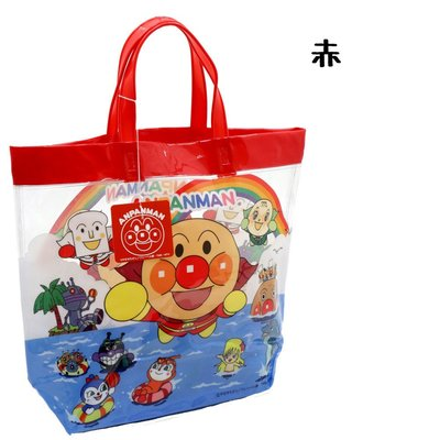 日本正版 麵包超人 防水袋 海灘袋 游泳袋 手提袋 肩背包 兒童包包 泡湯 游泳 戲水  日本空運~小太陽日本精品