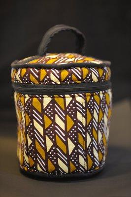 【甲殼哥】西非『手工花布化妝包』非洲獨家進口