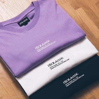 美國東村【CPTNHOOK】IBIZA INK TEE 黑 白 紫