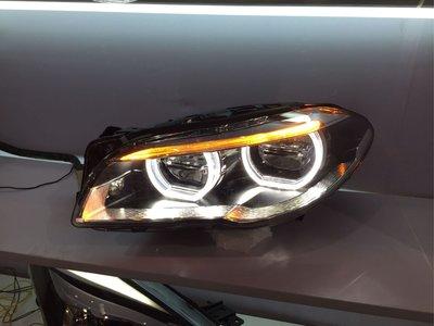 威鑫汽車精品 BMW F10 F11專用 全LED高配款大燈 無轉向可直上 品質穩定 亮度超好 另有前期改後期原廠大燈