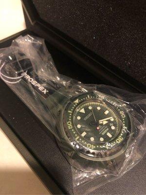 SEIKO SBDX027 鋼彈40周年限量 PROSPEX 1000米防水 鮪魚罐頭 綠水鬼