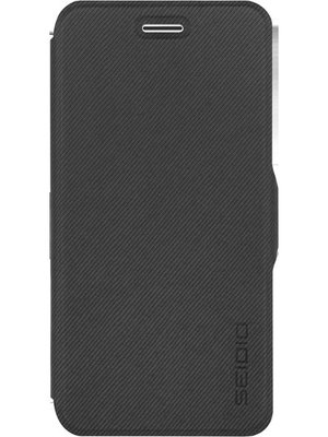 【妮可3C】SEIDIO for Apple iPhone 6 LEDGER™ 掀蓋保護套 - 深灰
