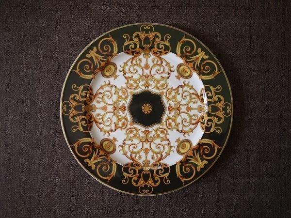 收藏盤  德國羅森泰   Rosentha   Versace 珍藏盤 12吋掛牆版12-1