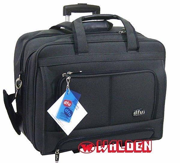 《葳爾登》18吋DFU電腦拉桿登機箱公事包旅行箱手提包行李箱【超大尺寸電腦包】18吋4026