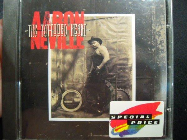 ※布箱子※二手原版CD~ Aaron Neville 【The Tattooed Heart】