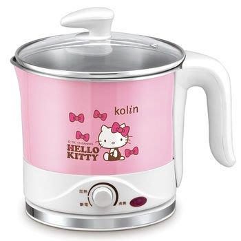 《省您錢購物網》9成新福利品~歌林Hello Kitty不銹鋼美食鍋(KPK-MNR006)