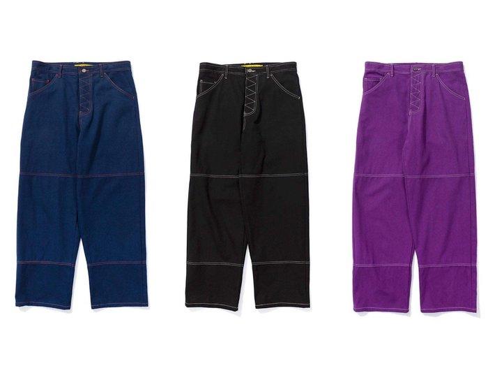 GOSPEL【DPPN-W.S.S. Chino Pants】Navy / Purple / Black