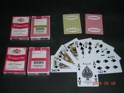 Excalibur ARISTO  紅色撲克牌