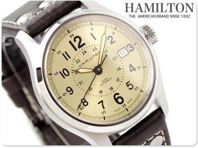 HAMILTON 漢米爾頓 手錶 Khaki Field 透明背蓋 機械錶 瑞士製 上班族 業務 生日 禮物 H70595523