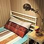 免運 3尺角鋼單人床 免螺絲角鋼/床架設計/上下舖/鐵床架/架高床/寢室家具/組合床/兒童床架 空間特工 S1WA309