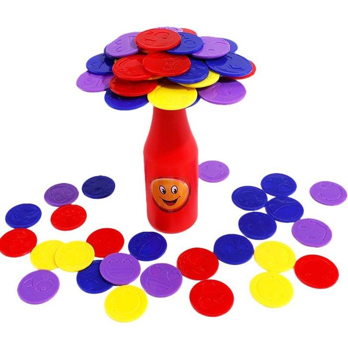 YM#爆款#腦力大作戰杯子挑戰賽 親子互動手 平衡能力 兒童益智力桌面游戲