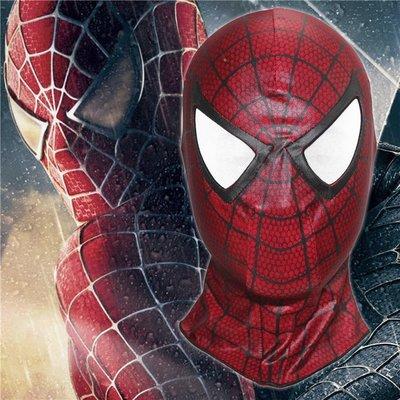 暖暖本舖 cosplay蜘蛛人面具 另有訂製蜘蛛人全套套裝 紅色蜘蛛人 面罩 精製特製面具 整人面具 漫威系列
