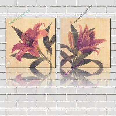 【40*40cm】【厚0.9cm】印象花卉-無框畫裝飾畫版畫客廳簡約家居餐廳臥室牆壁【280101_177】(1套價格)