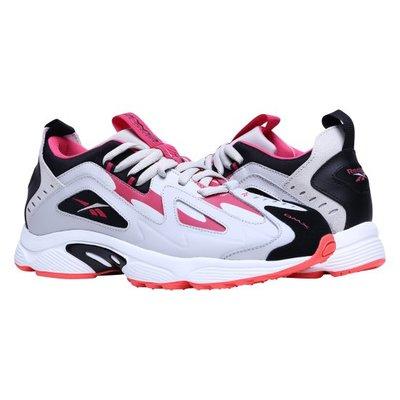 REEBOK DMX SERIES 1200 復古 皮革 慢跑鞋 灰粉紅 老爹鞋 男女鞋 情侶款  DV9228 YTS
