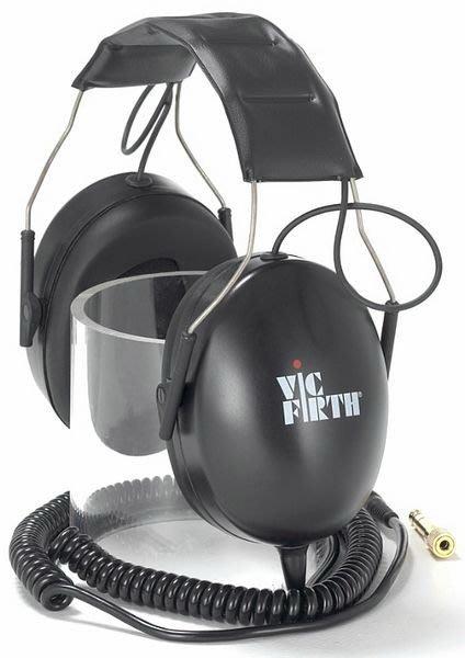 【名人樂器全館免運】美國 Vic Firth SIH1 爵士鼓高級耳罩式立體聲隔音 耳機(鼓手必備裝備)