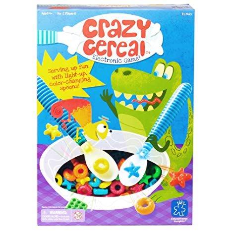 ~❤美國寶寶的衣櫥❤~(現貨)美國Crazy Cereal Game 瘋狂穀片 親子桌遊 反應認知訓練