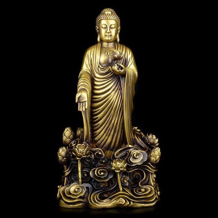【凡了居】阿彌陀佛佛像 壹 華鑫銅240