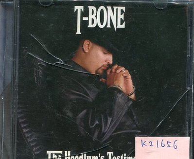 *真音樂* T BONE / THA HOODLUM'S TESTIMONY 二手 K21656
