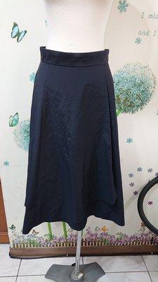 UNTITLED 藍黑色裙子(142)