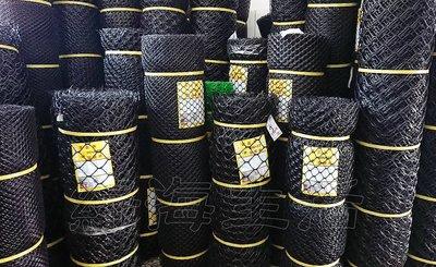 【綠海生活】塑鋼網 (B級/黑色) 5尺 長度:100尺 萬年網 黑網  塑膠網 萬用網 圍籬網 籬笆網 網子