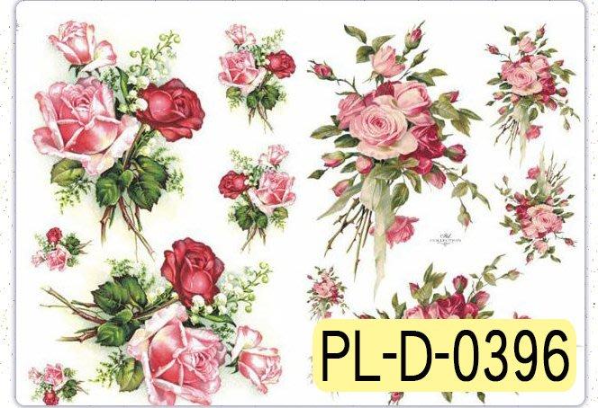 波蘭 Decoupage Paper(專用紙)A3編號PL-D-0396~蝶古巴特 餐巾紙拼貼 彩繪 黏土DIY手作材料