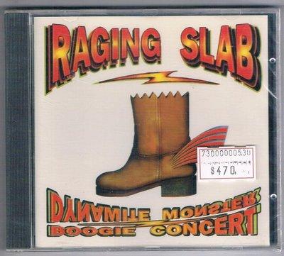 [鑫隆音樂]西洋CD-RAGING SLAB/Dynamite Monster Boogie Concert/全新