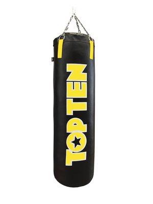 TOP TEN Heavy Bag Black/Yellow 150cm高