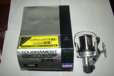 采潔日本二手外匯釣具 DAIWA  Z 45 T 超遠投 左手專用  二手 中古捲線器 釣竿