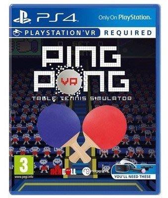 ps4遊戲PS4 VR游戲 二手 乒乓球 Ping Pong 現貨即發