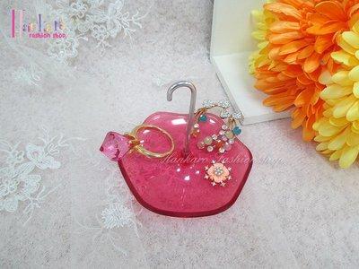 ☆[Hankaro]☆創意粉色雨傘造型飾品架(樣品出清)