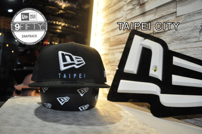 New Era Taiwan Limited Taipei City 9Fifty 台北限定限量950後扣尺寸棒球帽
